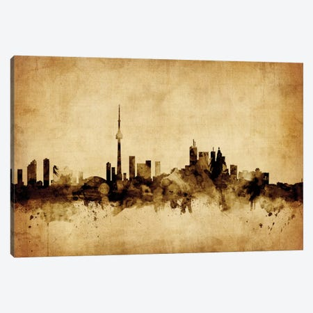 Toronto, Canada Canvas Print #MTO76} by Michael Tompsett Canvas Art Print