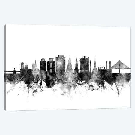 Charleston, South Carolina In Black & White Canvas Print #MTO771} by Michael Tompsett Canvas Print