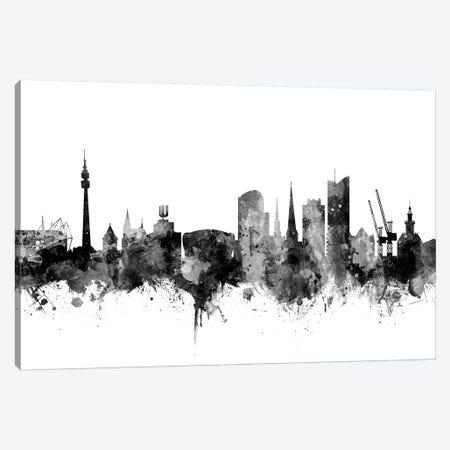 Dortmund, Germany In Black & White Canvas Print #MTO788} by Michael Tompsett Canvas Art