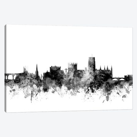 Durham, England In Black & White Canvas Print #MTO792} by Michael Tompsett Canvas Art Print