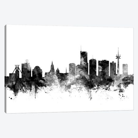 Essen, Germany In Black & White Canvas Print #MTO798} by Michael Tompsett Canvas Art Print
