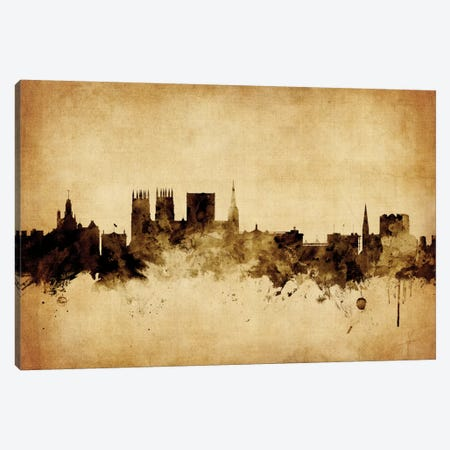 York, England, United Kingdom Canvas Print #MTO79} by Michael Tompsett Canvas Artwork