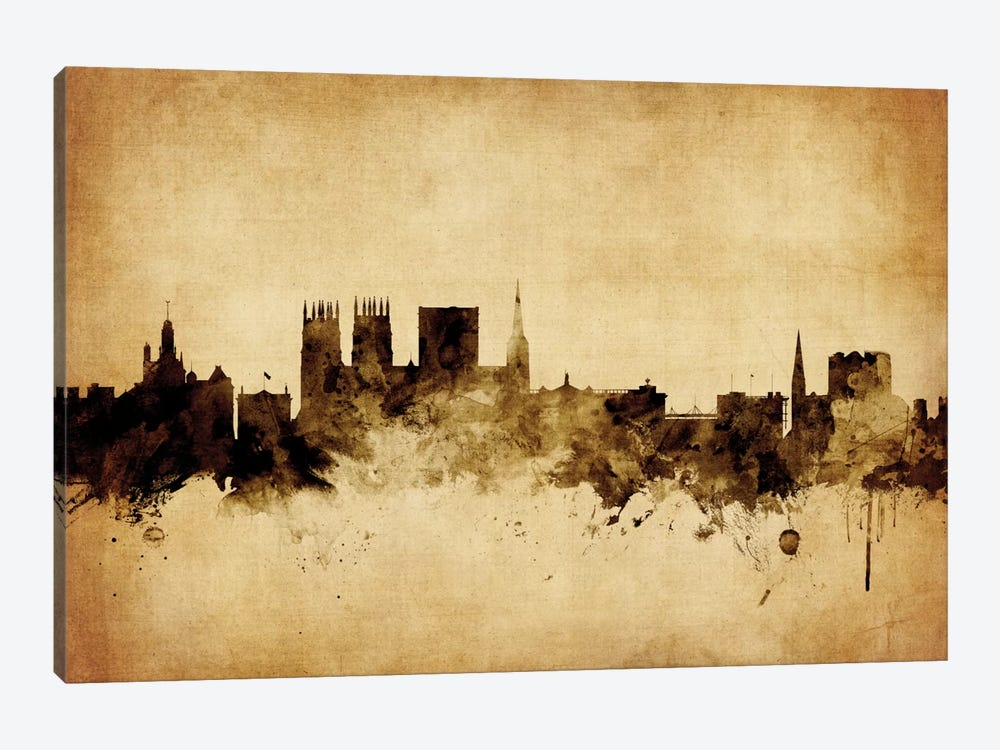 York, England, United Kingdom by Michael Tompsett 1-piece Canvas Art Print