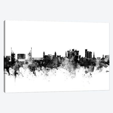 Fayetteville, Arkansas In Black & White Canvas Print #MTO800} by Michael Tompsett Canvas Print