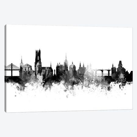 Fribourg, Switzerland In Black & White Canvas Print #MTO805} by Michael Tompsett Canvas Art