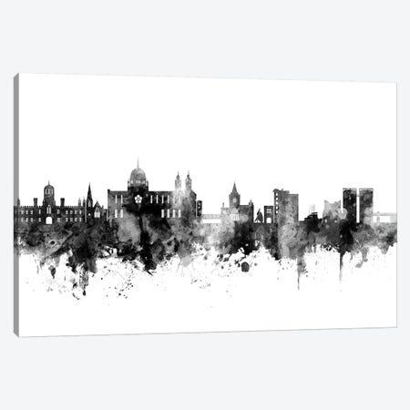 Galway, Ireland In Black & White Canvas Print #MTO806} by Michael Tompsett Canvas Art