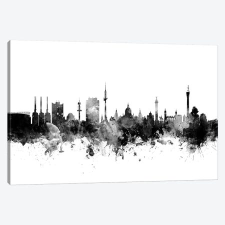 Hannover, Germany In Black & White Canvas Print #MTO813} by Michael Tompsett Canvas Wall Art