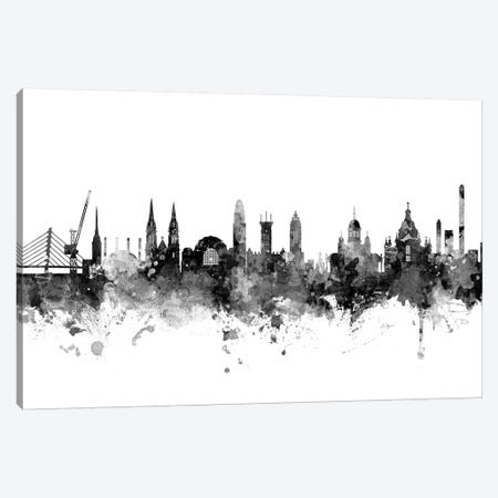 Helsinki, Finland In Black & White Canvas Print #MTO815} by Michael Tompsett Canvas Print
