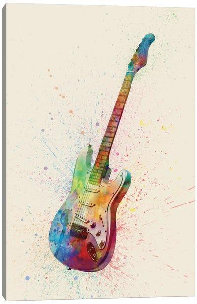 Electric Guitar I Canvas Art Print
