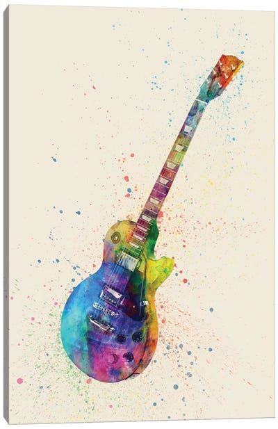 Musical Instrument Series: Electric Guitar II Canvas Art Print
