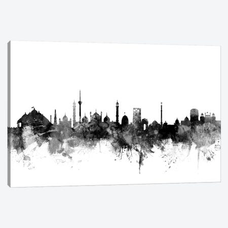 New Delhi, India In Black & White Canvas Print #MTO865} by Michael Tompsett Canvas Artwork