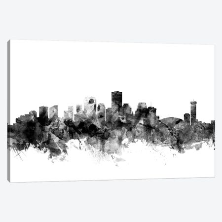 New Orleans, Louisiana In Black & White Canvas Print #MTO866} by Michael Tompsett Canvas Art