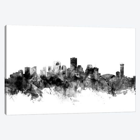New Orleans, Louisiana In Black & White Canvas Print #MTO866} by Michael Tompsett Canvas Art