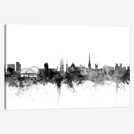 Newcastle, England In Black & White Canvas Print #MTO869} by Michael Tompsett Art Print