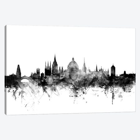 Oxford, England In Black & White Canvas Print #MTO876} by Michael Tompsett Canvas Print