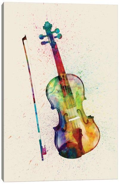 Musical Instrument Series: Violin Canvas Print #MTO87