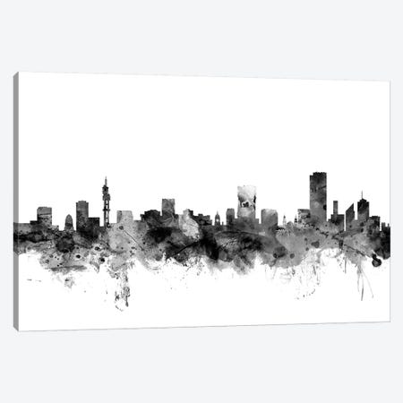 Pretoria, South Africa In Black & White Canvas Print #MTO885} by Michael Tompsett Canvas Art