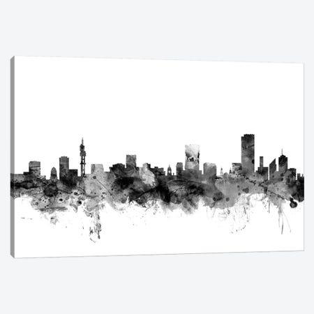 Pretoria, South Africa In Black & White Canvas Print #MTO885} by Michael Tompsett Canvas Art