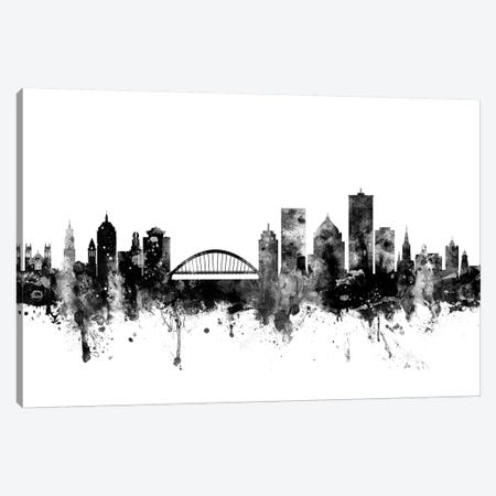 Rochester, New York In Black & White Canvas Print #MTO891} by Michael Tompsett Canvas Art