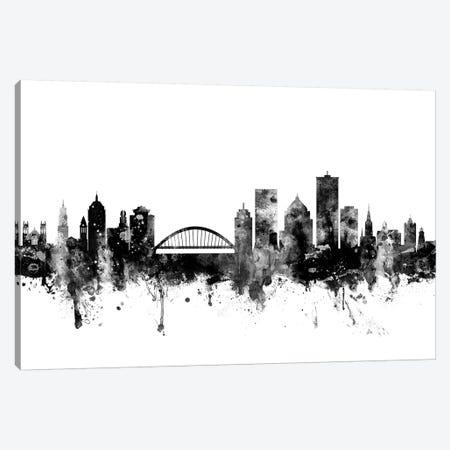 Rochester, New York In Black & White Canvas Print #MTO891} by Michael Tompsett Canvas Art
