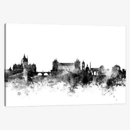 Rome, Italy In Black & White Canvas Print #MTO892} by Michael Tompsett Canvas Art