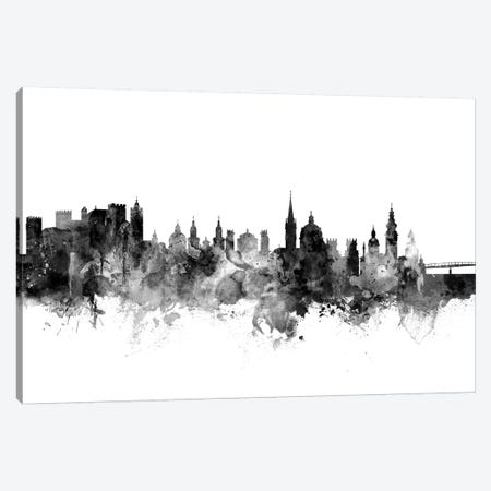 Salzburg, Austria In Black & White Canvas Print #MTO896} by Michael Tompsett Canvas Art Print