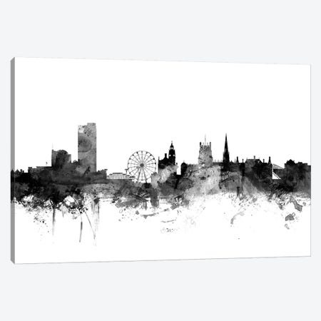 Sheffield, England In Black & White Canvas Print #MTO906} by Michael Tompsett Canvas Print