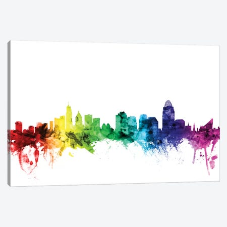 Cincinnati, Ohio, USA Canvas Print #MTO95} by Michael Tompsett Canvas Art Print