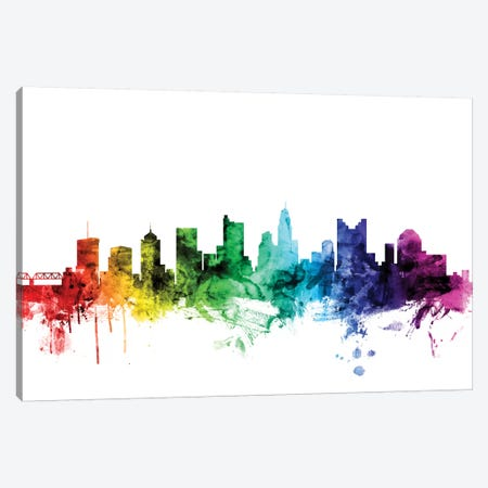 Columbus, Ohio, USA Canvas Print #MTO96} by Michael Tompsett Canvas Art Print