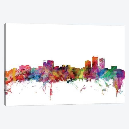 Anchorage, Alaska Skyline Canvas Print #MTO972} by Michael Tompsett Canvas Art Print