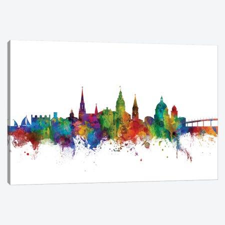 Annapolis, Maryland Skyline Canvas Print #MTO973} by Michael Tompsett Canvas Art Print