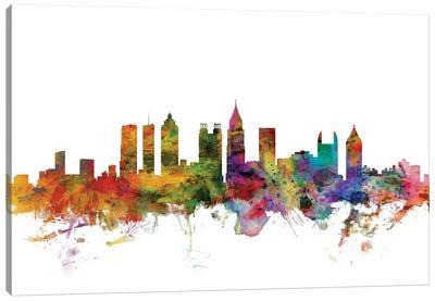 Atlanta, Georgia Skyline Canvas Art Print