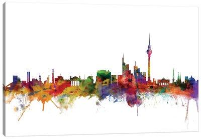 Berlin, Germany Skyline Canvas Art Print
