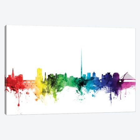Dublin, Republic Of Ireland Canvas Print #MTO99} by Michael Tompsett Canvas Artwork