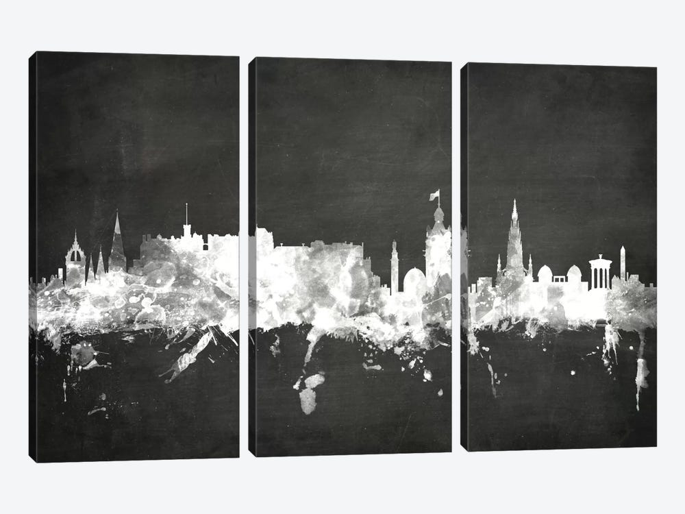 Edinburgh, Scotland, United Kingdom by Michael Tompsett 3-piece Canvas Art