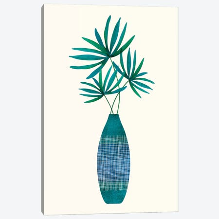 Emerald Flora Canvas Print #MTP101} by Modern Tropical Canvas Print