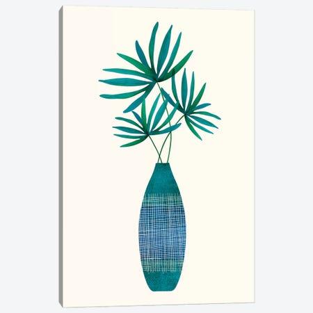 Emerald Flora Canvas Print #MTP101} by Modern Tropical Canvas Print