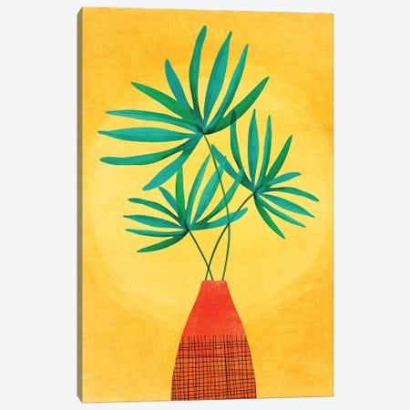 Radiant Flora Canvas Print #MTP102} by Modern Tropical Canvas Print