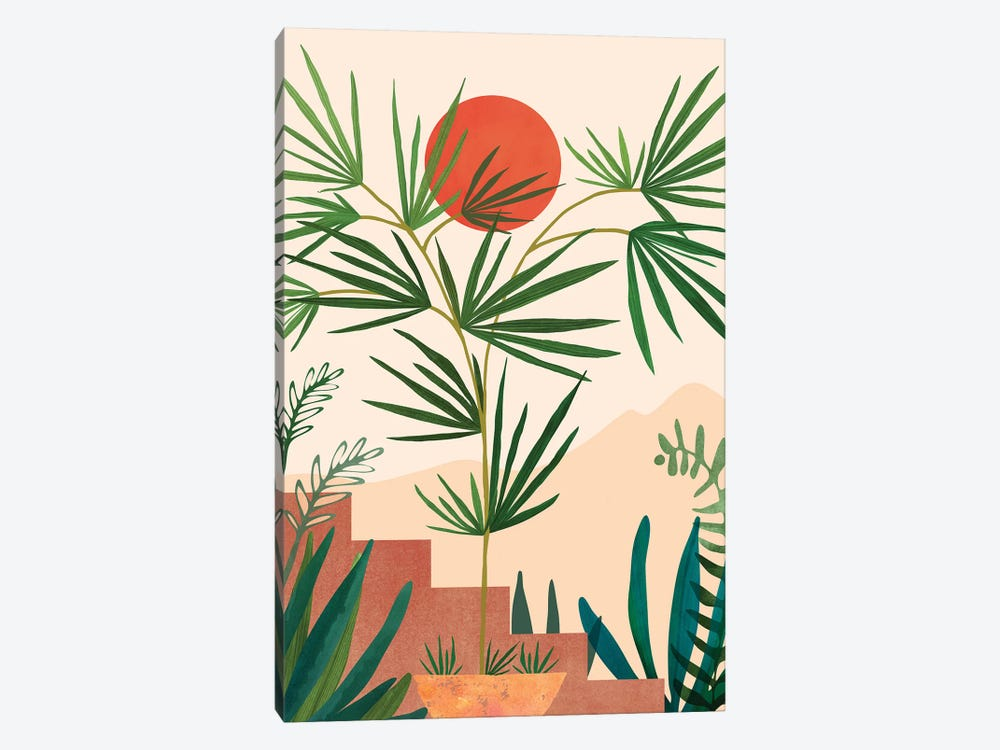 Weekend In Mojave by Modern Tropical 1-piece Canvas Artwork