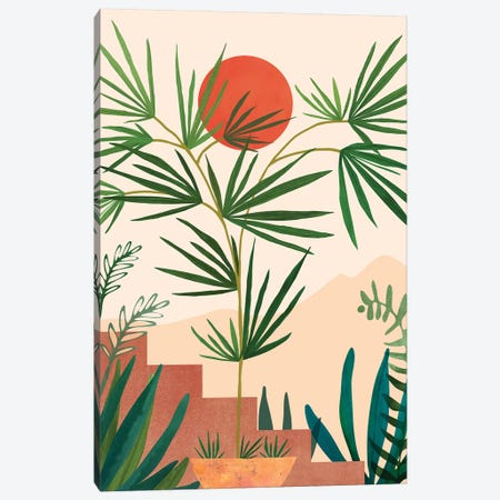 Weekend In Mojave 3-Piece Canvas #MTP103} by Modern Tropical Canvas Print
