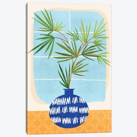 Window Seat 3-Piece Canvas #MTP105} by Modern Tropical Canvas Artwork