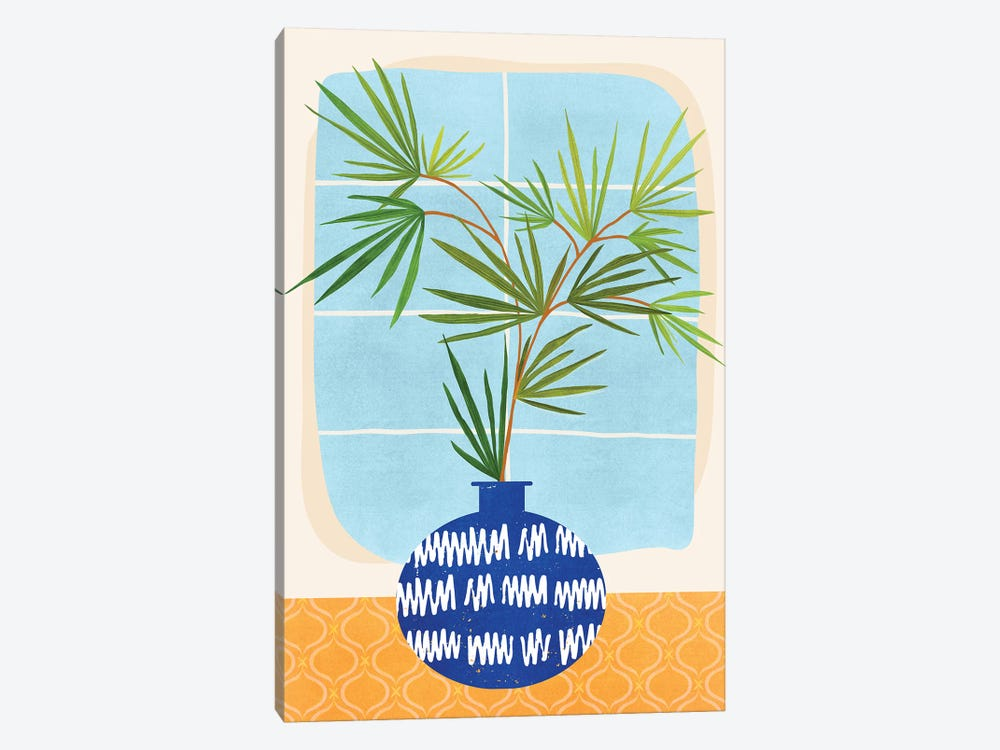 Window Seat by Modern Tropical 1-piece Canvas Artwork