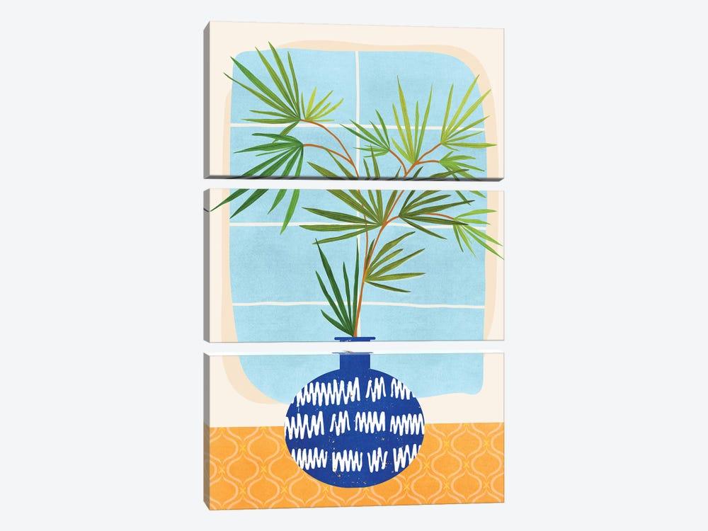 Window Seat by Modern Tropical 3-piece Canvas Artwork