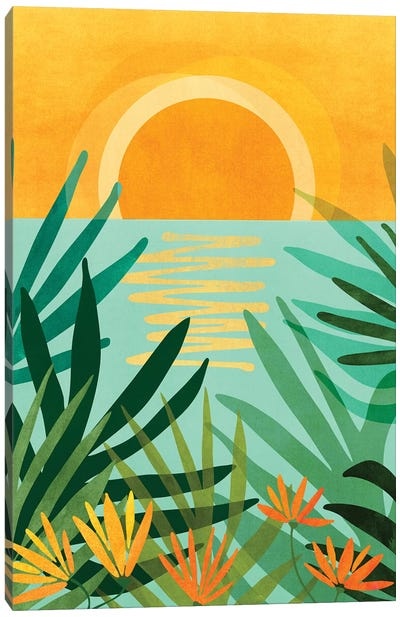 Peaceful Tropics Canvas Art Print