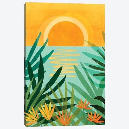 Peaceful Tropics Canvas Print #MTP109} by Modern Tropical Canvas Art Print