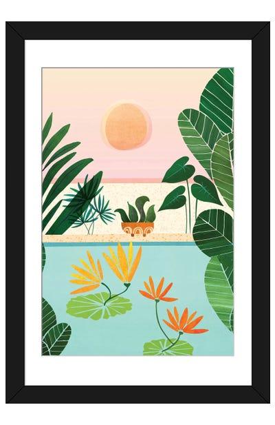 Shangri La Sunrise Framed Art Print