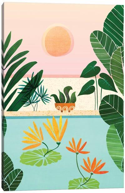 Shangri La Sunrise Canvas Art Print