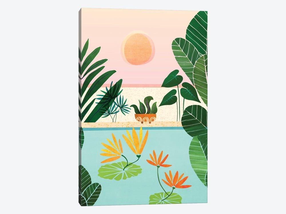 Shangri La Sunrise by Modern Tropical 1-piece Canvas Print