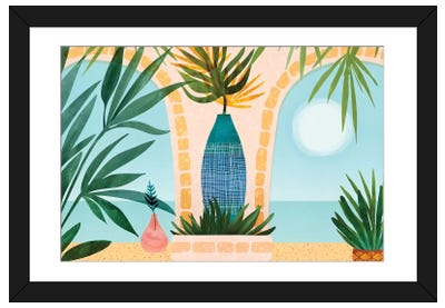 Welcome To The Hotel California Framed Art Print