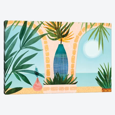 Welcome To The Hotel California Canvas Print #MTP113} by Modern Tropical Canvas Artwork